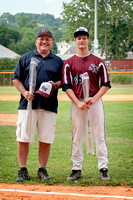 My Dad and Nick Dunn. Nick broke my dad's batting record this year - after 47 years :)